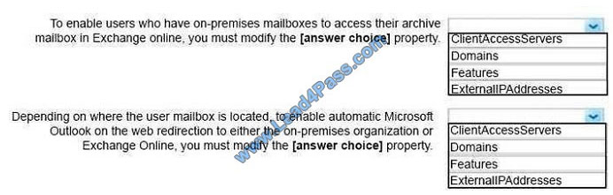 lead4pass ms-201 exam question q2-1