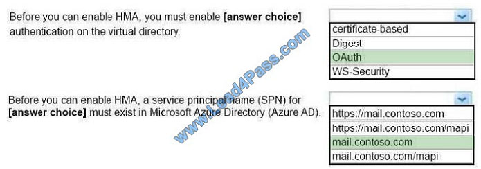 lead4pass ms-201 exam question q8-2