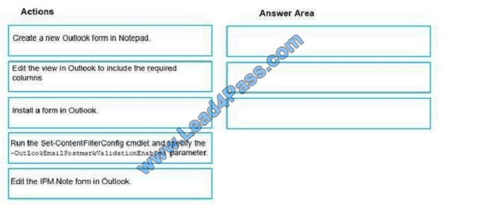 lead4pass ms-201 exam question q9