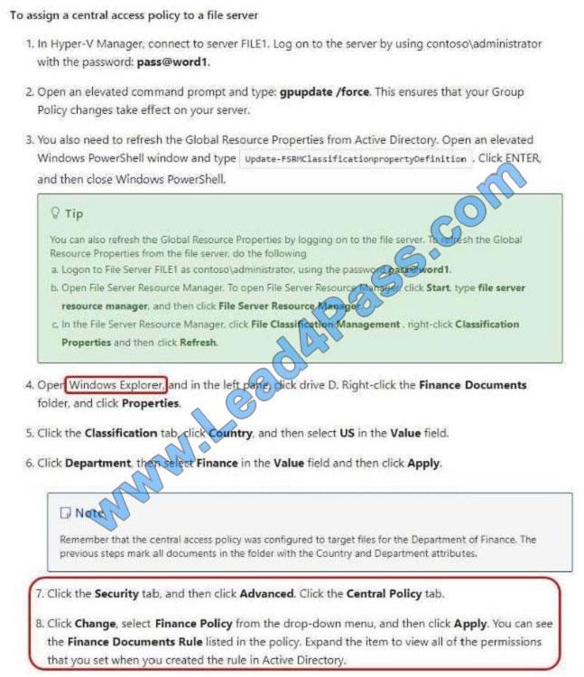 lead4pass 70-744 exam question q5