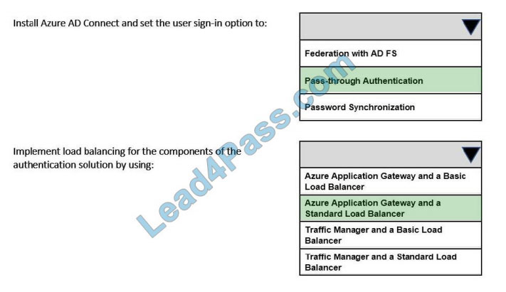 lead4pass az-304 practice test q6-1