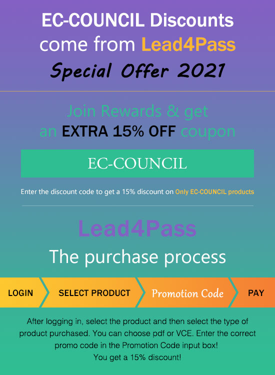 EC-COUNCIL discount code